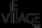 LOGO LE VILLAGE BY CA NOIR